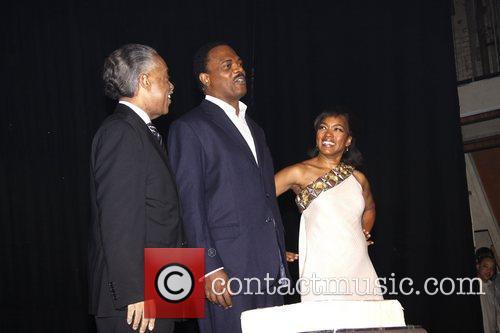 Al Sharpton, Angela Bassett and Samuel L Jackson 6