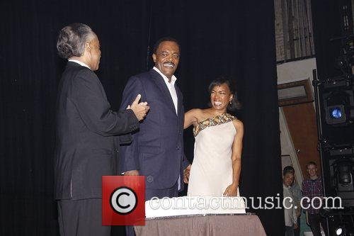 Al Sharpton, Angela Bassett and Samuel L Jackson 10