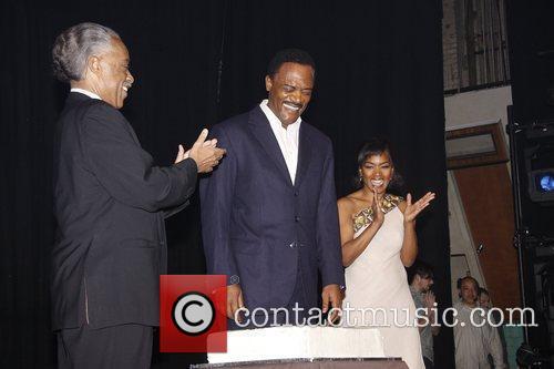 Al Sharpton, Angela Bassett and Samuel L Jackson 8