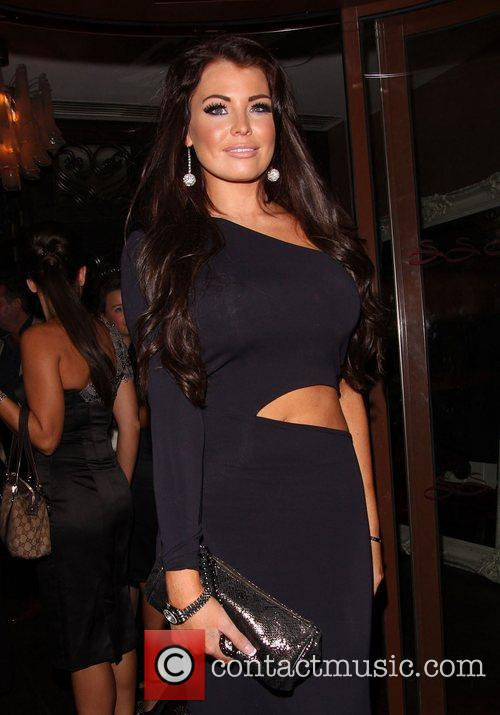 Celebrities enjoy a night out at Sanctum Soho...