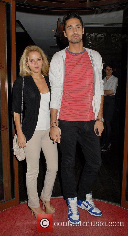 Natalie Joel and Hugo Taylor,  at Francesca...