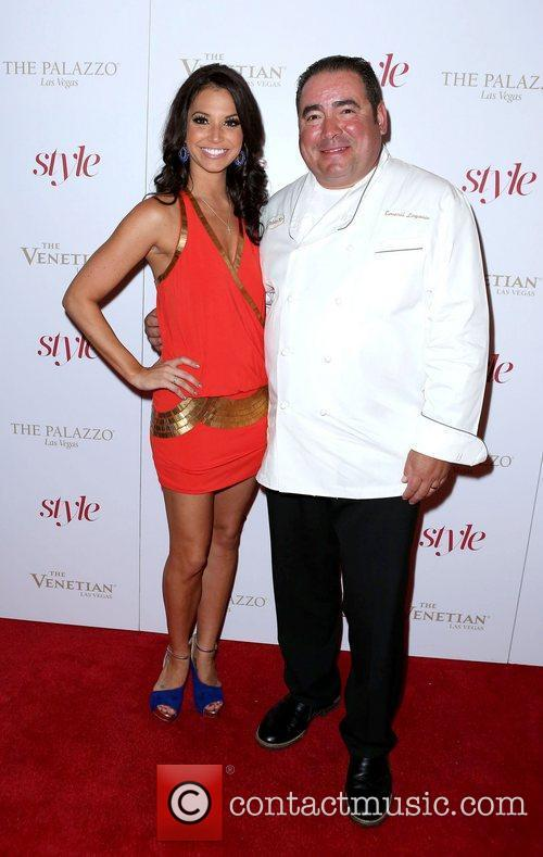 Melissa Rycoft, Emeril Lagasse Sands Style Magazine launch...
