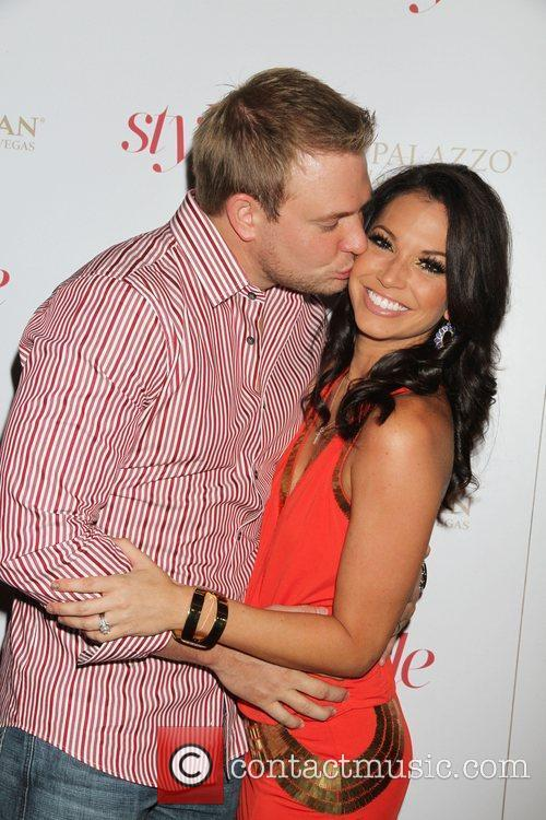 Tye Strickland, Melissa Rycroft Sands Style Magazine launch...