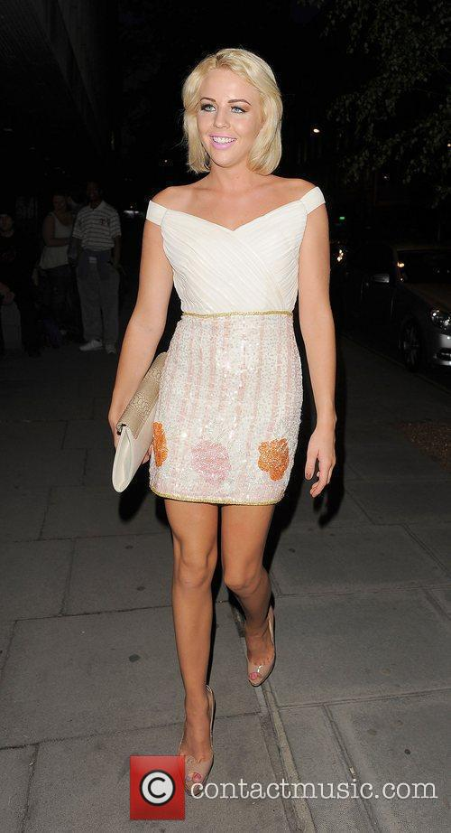 Lydia Rose Bright leaving the Sanderson hotel. London,...