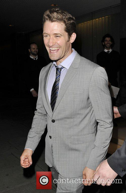 Glee star Mr Will Schuester attends the after...
