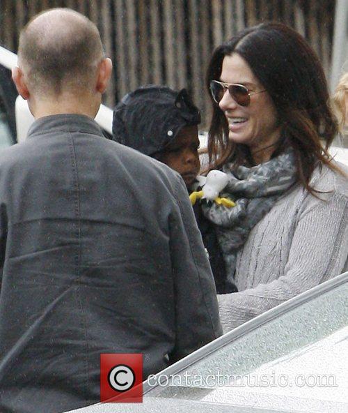 Sandra Bullock and Louis Bardo 2