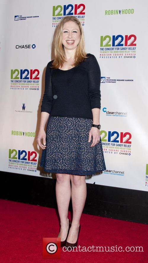 Chelsea Clinton 12-12-12 Concert Benefiting The Robin Hood...