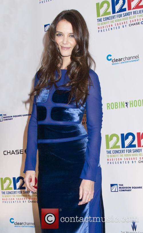 Katie Holmes 12-12-12 Concert Benefiting The Robin Hood...