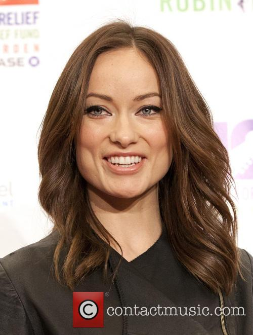Olivia Wilde 12-12-12 Concert Benefiting The Robin Hood...