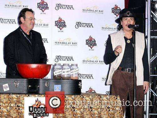Dan Aykroyd, Carlos Santana, House Of Blues