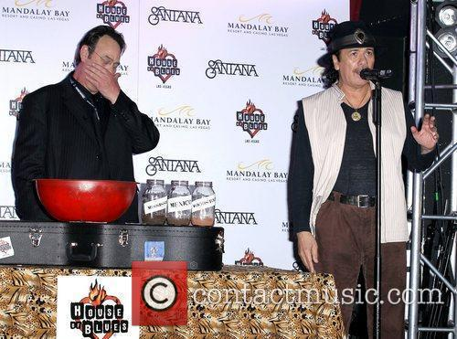 Dan Aykroyd, Carlos Santana and House Of Blues 6
