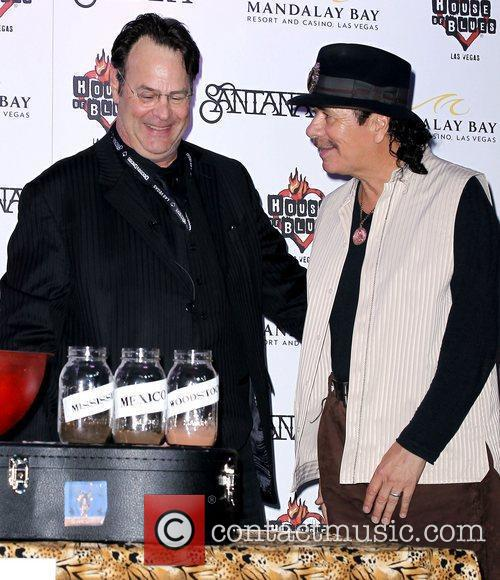 Dan Aykroyd, Carlos Santana and House Of Blues 8