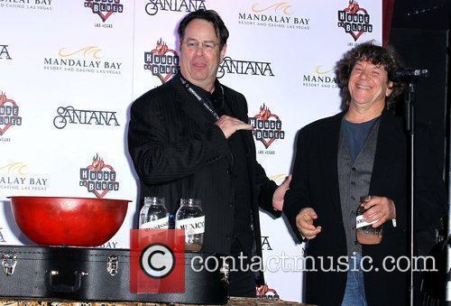 Dan Aykroyd, Michael Lang Dan Aykroyd joins Carlos...