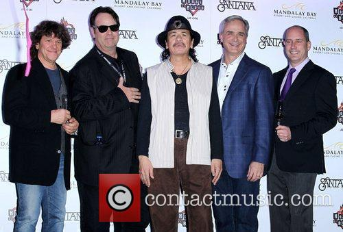 Dan Aykroyd, Carlos Santana and House Of Blues 9