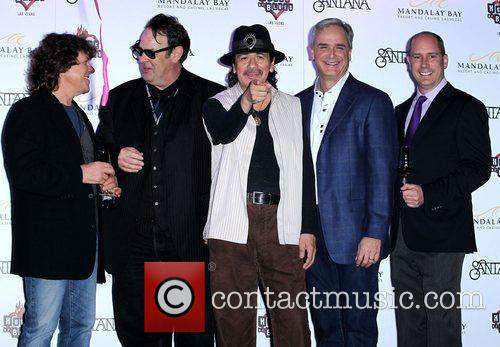 Dan Aykroyd, Carlos Santana and House Of Blues 10