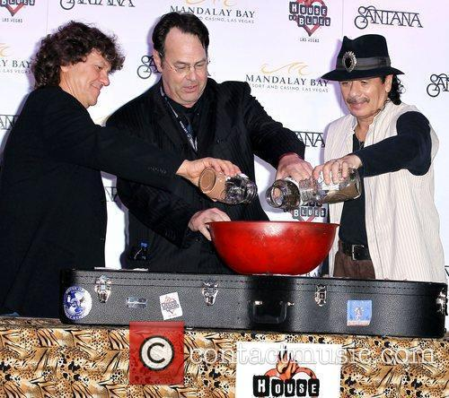 Dan Aykroyd, Carlos Santana and House Of Blues 11