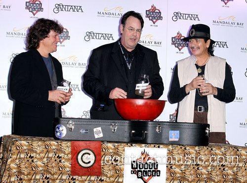 Dan Aykroyd, Carlos Santana and House Of Blues 5
