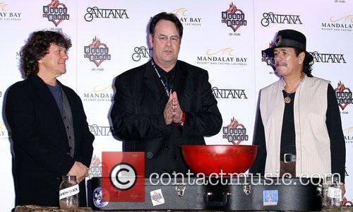 Dan Aykroyd, Carlos Santana and House Of Blues 6