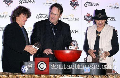 Dan Aykroyd, Carlos Santana and House Of Blues 1