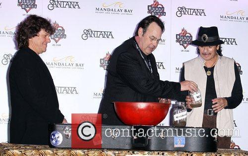Dan Aykroyd, Carlos Santana and House Of Blues 8