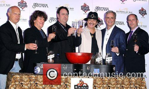 Ron Bension, Michael Lang, Dan Aykroyd, Carlos Santana,...
