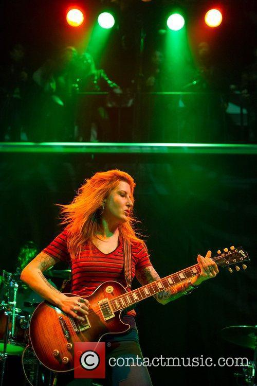 Kylesa  performing live at Santiago Alquimista in...
