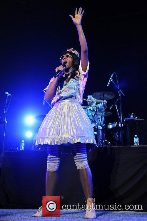 Santigold and Red Hot Chili Peppers 3