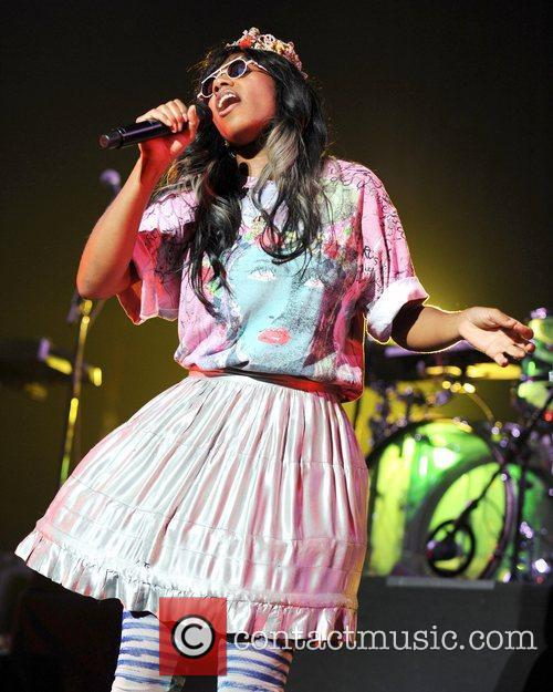 Santigold and Red Hot Chili Peppers 12