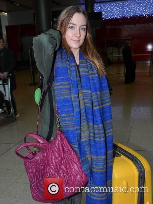 Actress Saoirse Ronan, Arrivals Hall, Dublin Airport and Festive Season 2