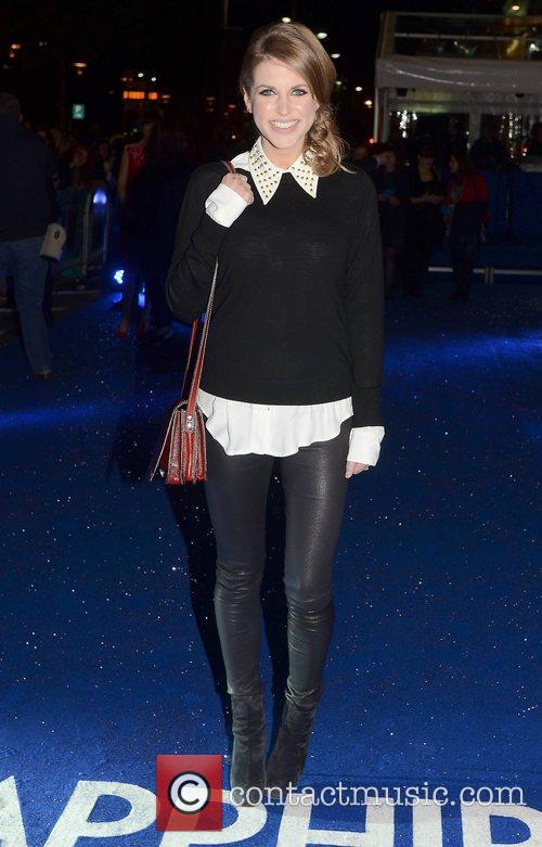 Amy Huberman,  at the premiere of 'Sapphires'...