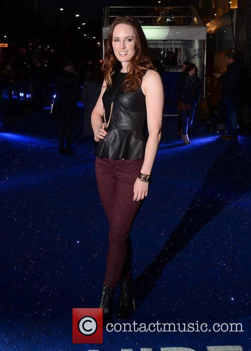 Aoibheann McCaul,  at the premiere of 'Sapphires'...