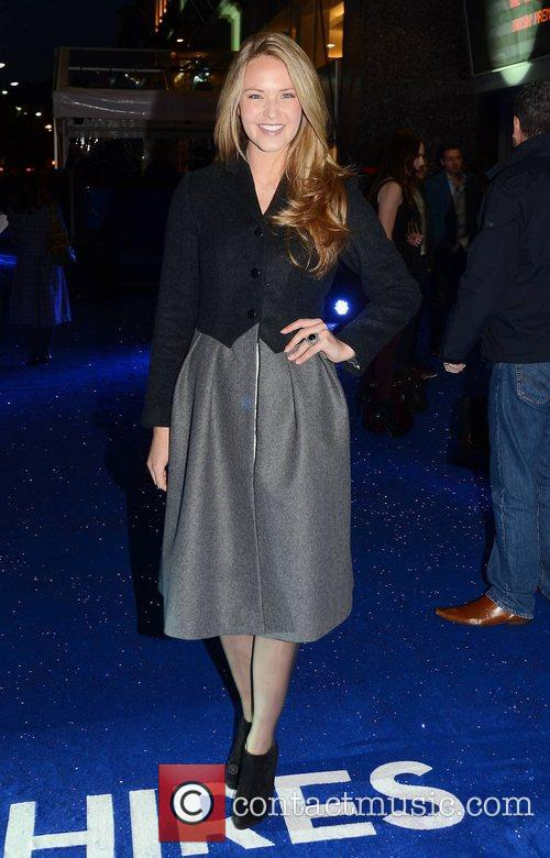 Aoibhin Garrihy,  at the premiere of 'Sapphires'...