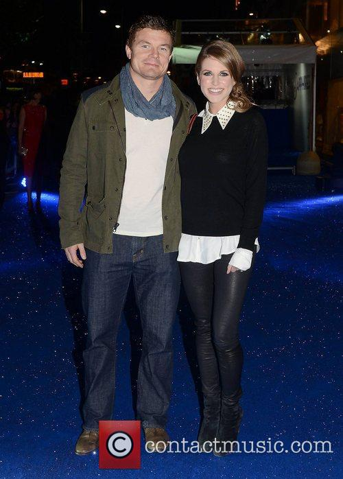 Brian O'Driscoll, Amy Huberman,  at the premiere...