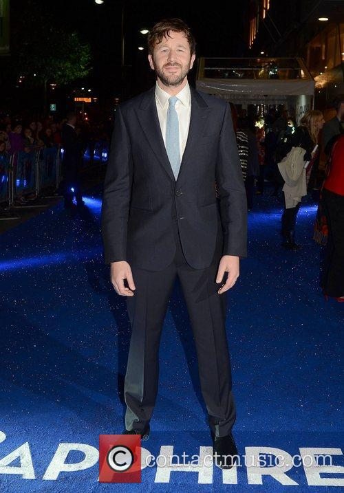 Chris O'Dowd,  at the premiere of 'Sapphires'...