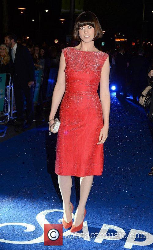At the premiere of 'Sapphires' at The Savoy.