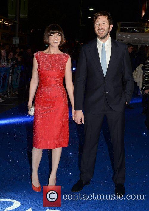 Dawn Porter, Chris O'Dowd,  at the premiere...
