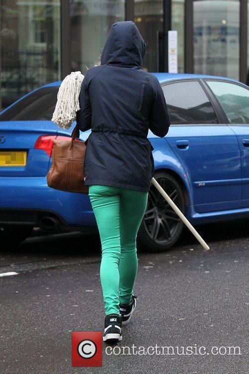 Returning to her car in central London