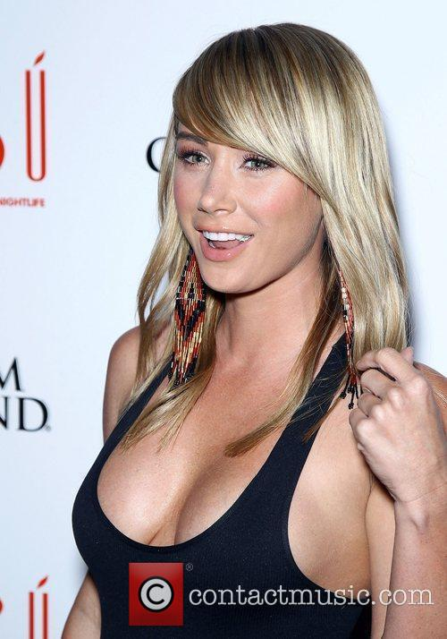 Former Playboy Playmate of The Year Sara Underwood...