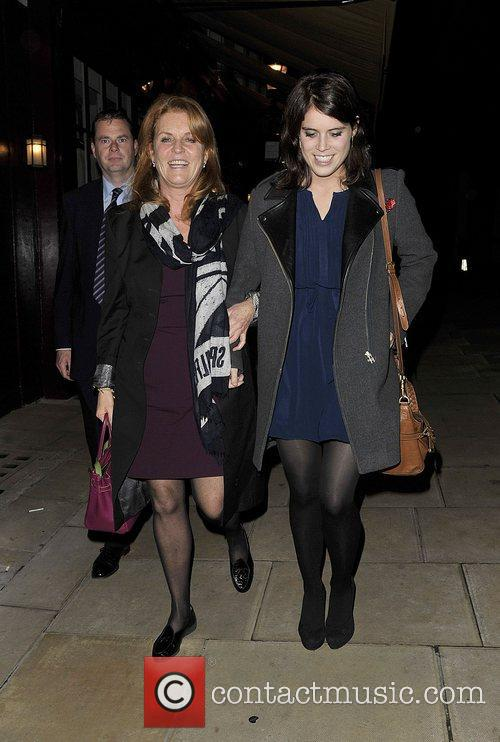 Sarah Ferguson, Duchess, York, Princess Eugenie and Hertford Street 4