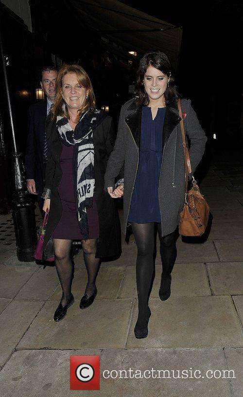 Sarah Ferguson, Duchess, York, Princess Eugenie and Hertford Street 2
