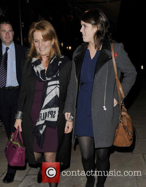 Sarah Ferguson, Duchess, York, Princess Eugenie and Hertford Street 1