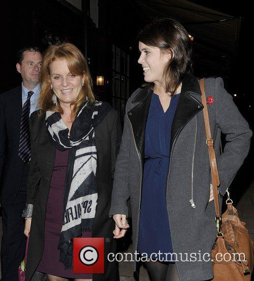 Sarah Ferguson, Duchess, York, Princess Eugenie and Hertford Street 3