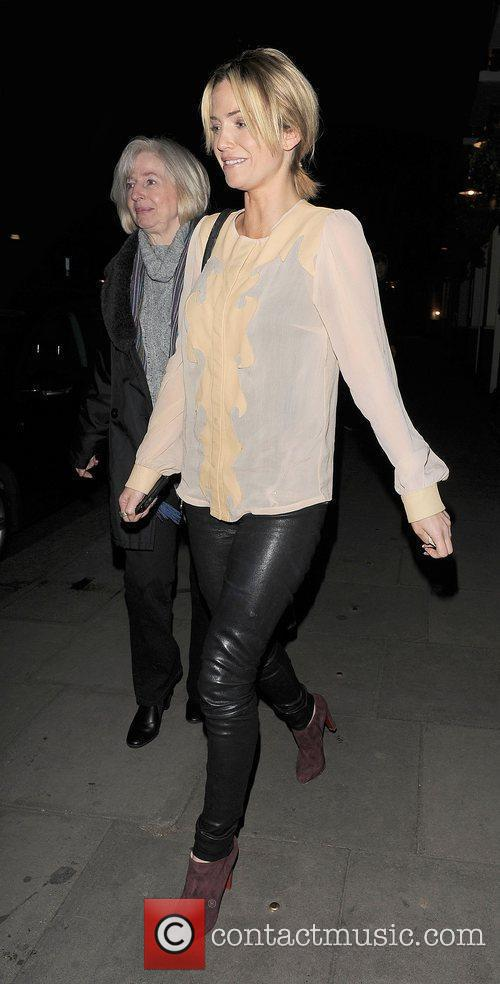 Sarah Harding takes her mother Marie Hardman for...