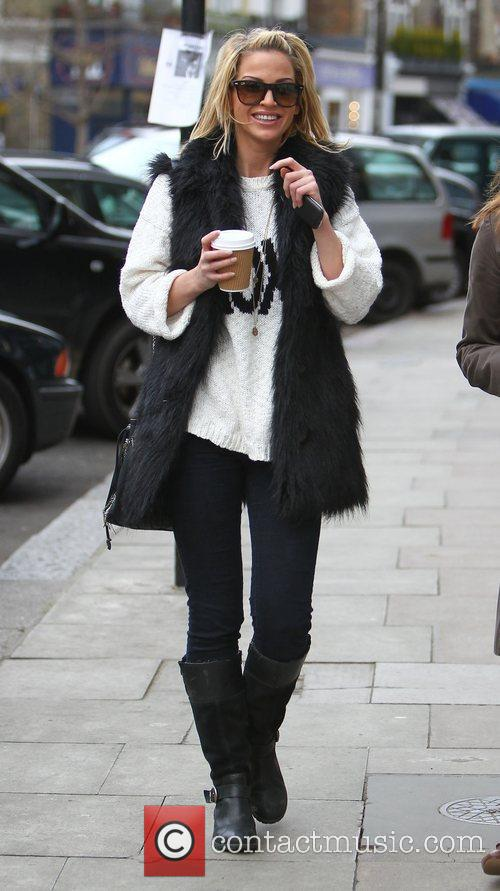 Sarah Harding out and about in Primrose Hill