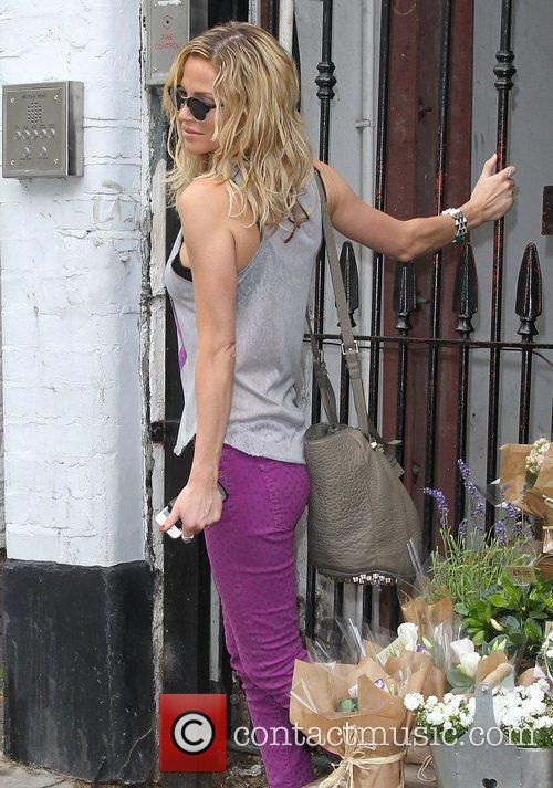 Sarah Harding out in Primrose Hill London, England