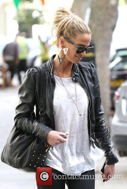 Sarah Harding out and about in Primrose Hill...
