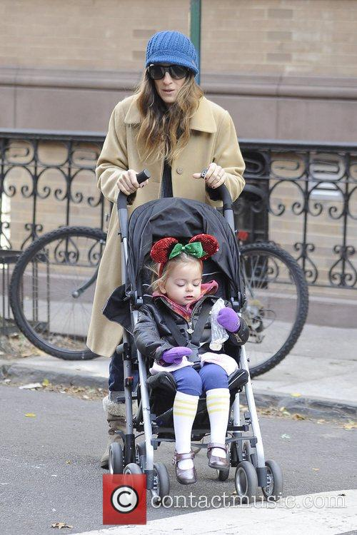 Sarah Jessica Parker, Marion and Tabitha Broderick 9