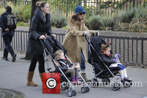 Sarah Jessica Parker, Marion and Tabitha Broderick 11