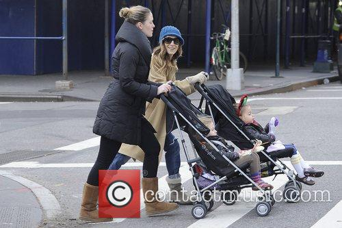 Sarah Jessica Parker, Marion and Tabitha Broderick 4