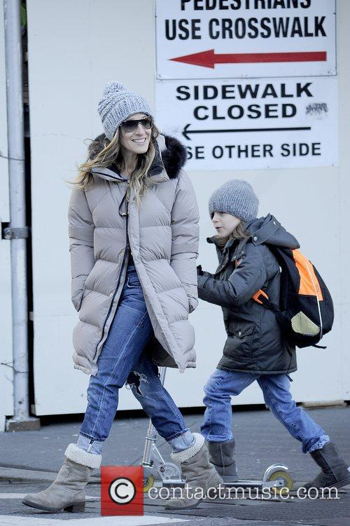James Broderick and Sarah Jessica Parker 5
